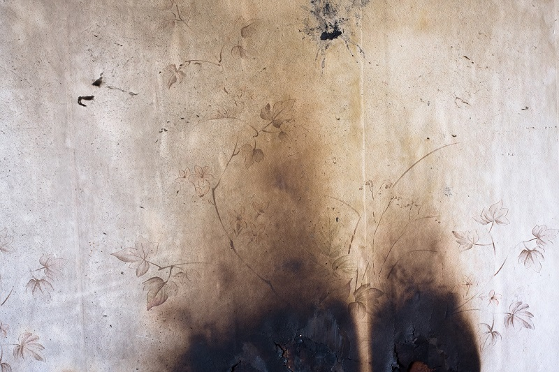 painting over fire damaged walls new jersey